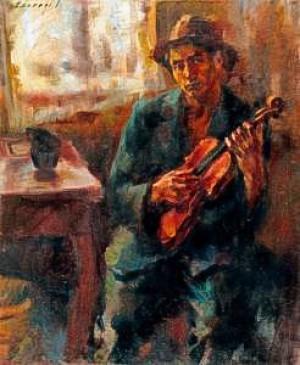 Sad Violinist