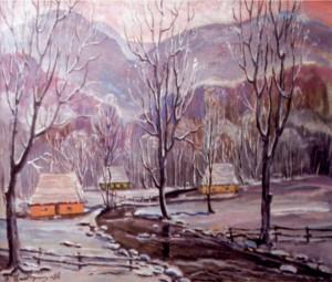 Зима, 2006, п.о., 80х100