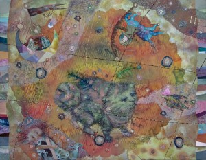 Constellation Of Felix, 2013, 50x70