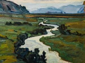 Млиновиця,с.Дулово, 1962, к.о., 41х53