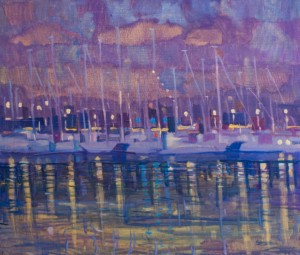 Yachts, 2015, 60x70