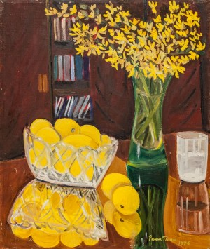 'Golden Rain With Lemons', 1976