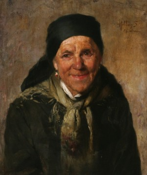 Portrait Of A Woman, 1880s