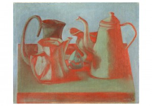 Red Still Life, 2003, oil on canvas, 50x60
