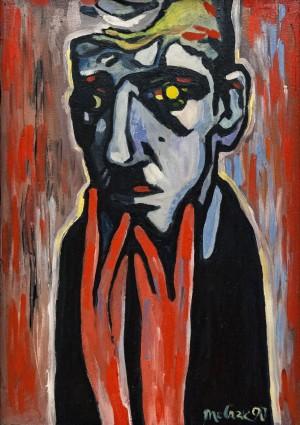 A Thinking Man', 1990