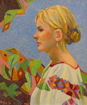 Portrait Of Myroslava, 2015