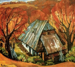 Gold of the Carpathians, 1986, oil on cardboard, 75х85
