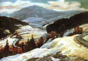 Жорнавський перевал, 1983, 60х80