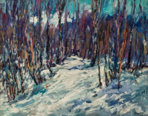 R. Y. Tovt, Birch forest