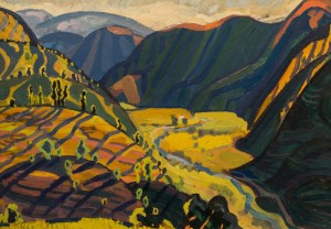 Sunny Valley, 1961, oil on cardboard, 49,5х69,5