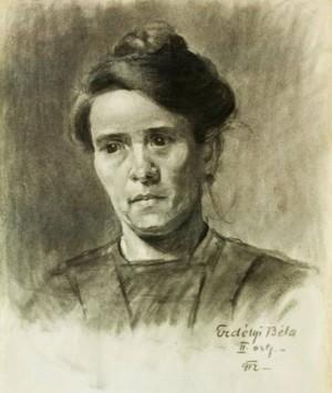 Жіночий портрет, 1912 (Приватна колекція)
