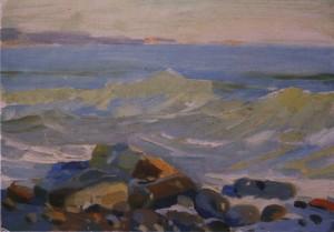 Прибій, 1956, к.о. 23,5х35