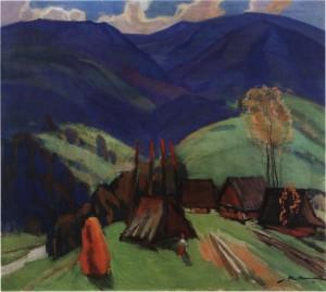 Присілок, кін. 1960-х, п.о. 75х85