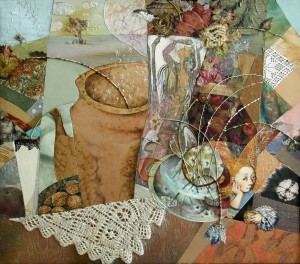 The First Snow. Still Life With Vase Of Picasso, 2006, 60х68