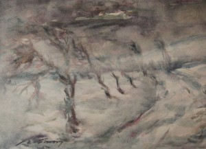 'Winter', 1930, watercolour on paper, 38,5х53,5.png