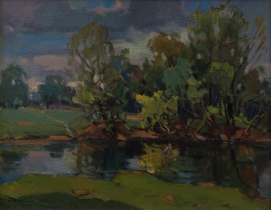 'Spring Harmony', 2017, oil on canvas, 55x70