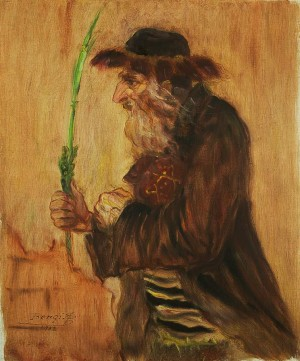 An Old Man With Lilac, 1932