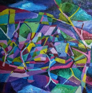 Freshness oil on canvas 80х80