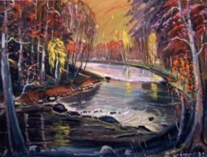 Золота осінь, 2003, п.о., 70х80