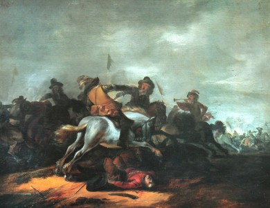 Philips Wouwerman Battle