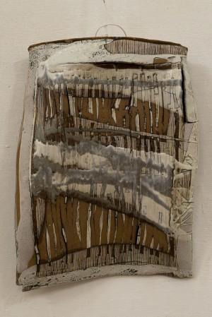 "N. Hrabar-Boretska ""Plastics"", porcelain, 50x30x6"