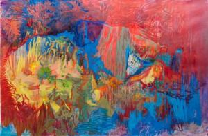 'Кадмієва печера', 1990-2006, 200х300