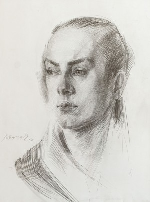 Когутич В. 'Портрет', 2017