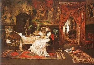 Паризький інтер'єр 1877 р. п.о.