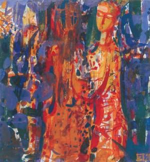 Царівна, 2012, п.а., 80х75