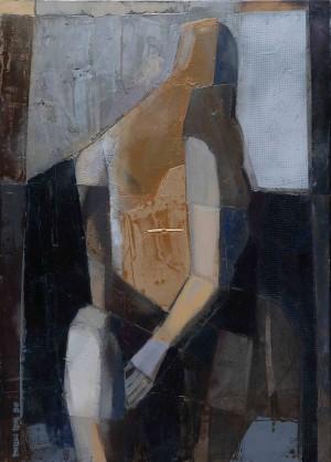 Оголена, 2010, 70х60