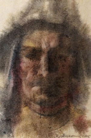 Скакандій В. Із серії 'Чоловічі портрети'