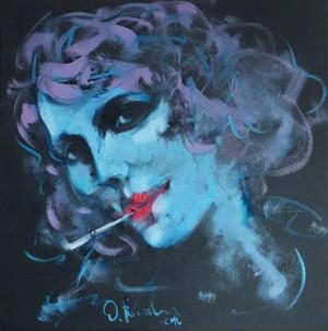 O. Voitovych 'A Cigarette', 2016