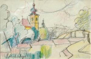 Місто Дьор, 1943, Приватна колекція (Аукційний дім Дукат)