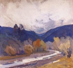 Ранковий туман, 1978, п.о. 75х80