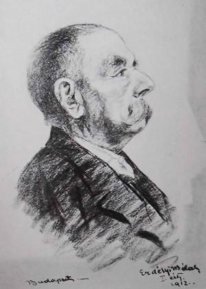 Портрет старого, 1912, Приватна колекція
