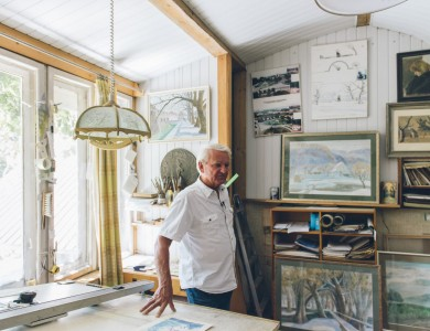 MASTER AND HIS STUDIO. PETRO HAIOVYCH