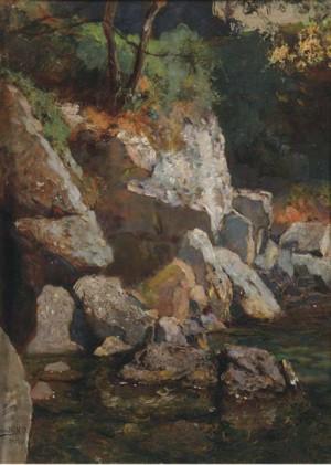Mountain Stream, 54х41,5