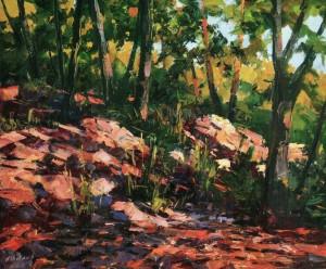 Forest Motif, 2010, 70x90