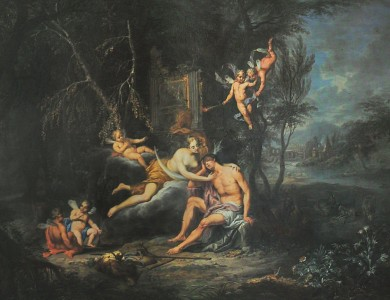 Franz Christoph Janneck. Endymion and Selene
