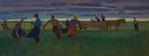 Harvesting, 1971