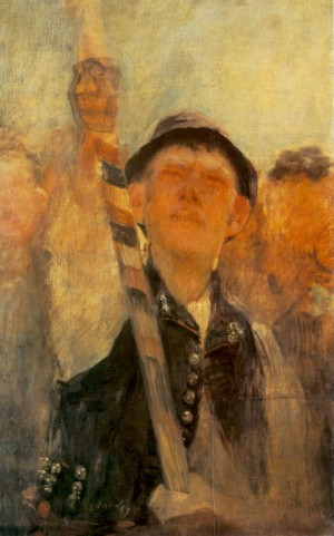 Flag-Bearer, (Study For The Rakoczi-March), 1899