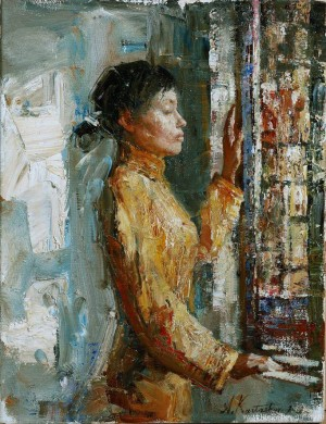 Near The Window, 2006, 40х30