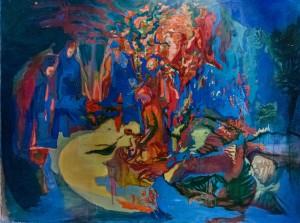 'Діти, що бються', 2004, 150х200