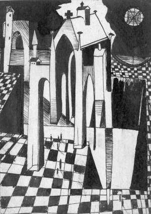 Корж Б. 'Місто', 1977