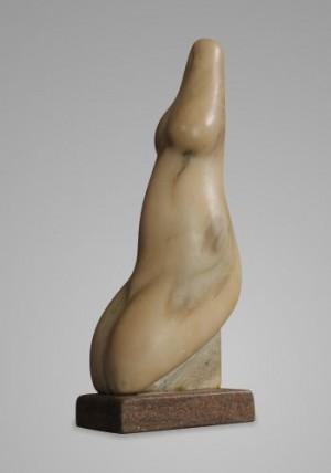 Сидяча, 2006, мармур, 30х9.5х12