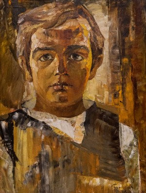 'Portrait Of Andrii', 1973, oil on canvas