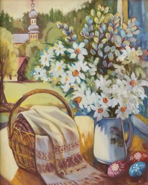 M. Myrtryk Easter still life