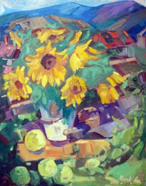 Sunflowers, 2012