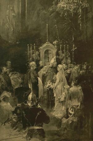 Весілля в замку Буди