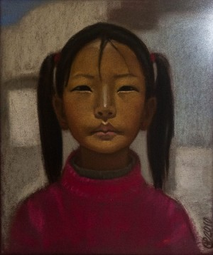 N. Sima-Pavlyshyn 'A Girl From Tibet', 2010